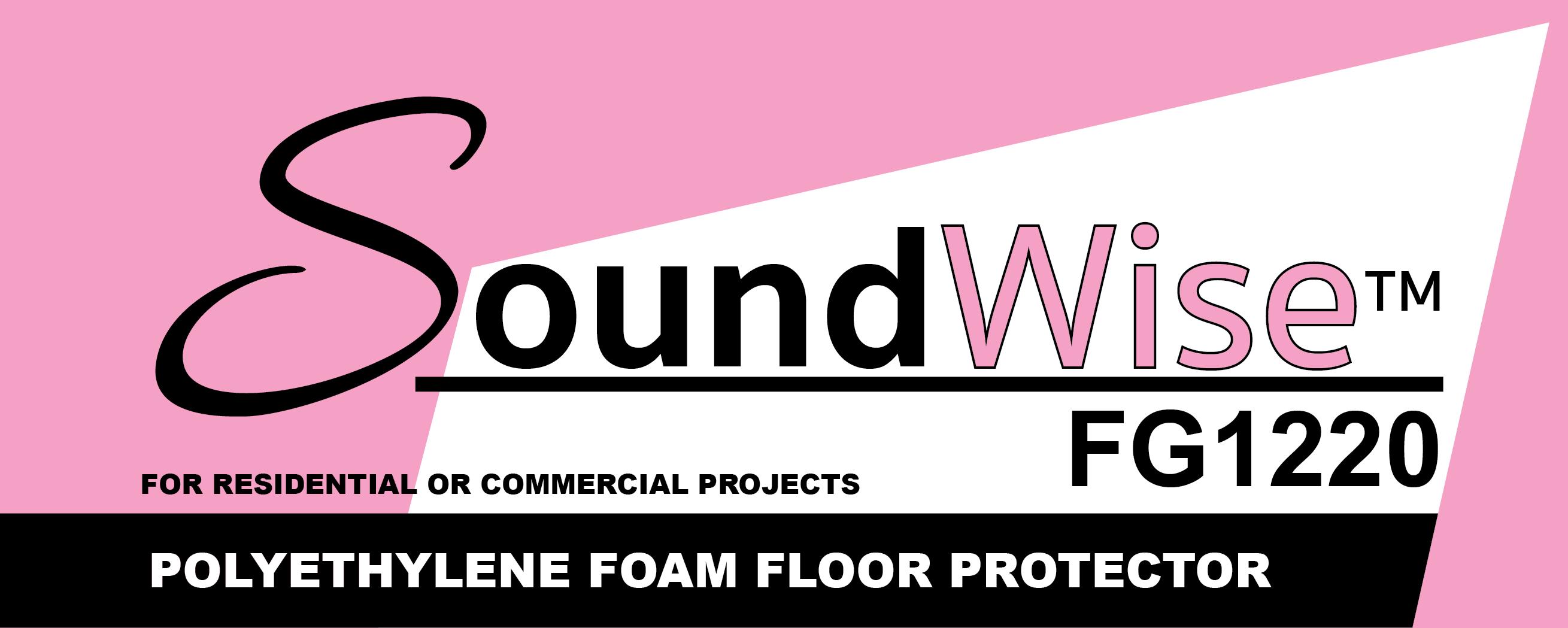 Soundwise FG 1220 Polyethylene Foam Floor Protector