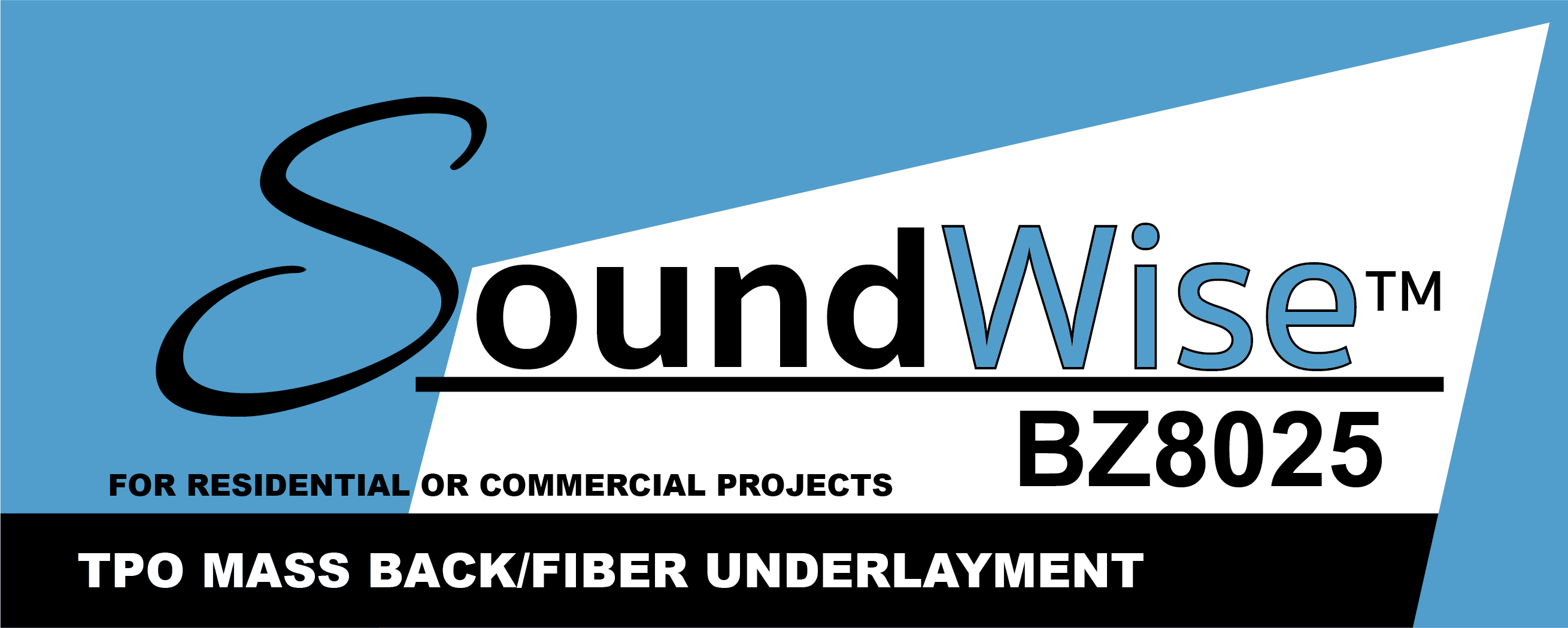 Soundwise™ TPO MASS BACK/FIBER UNDERLAYMENT